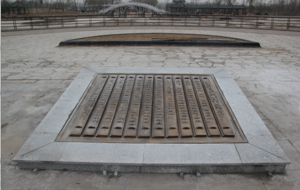 天津铸铜浮雕   公园雕塑  地面浮雕
