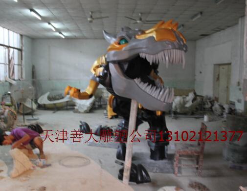 天津雕塑|天津恐龙雕塑|天津玻璃钢雕塑|天津善大雕塑作品|玻璃钢雕塑工程图片|天津雕塑公司|天津雕塑工程