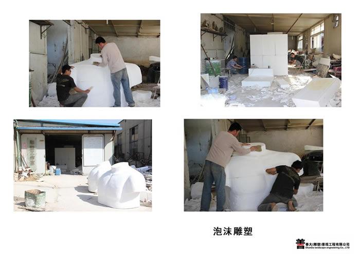 天津泡沫雕塑【天津善大雕塑公司工程展示】