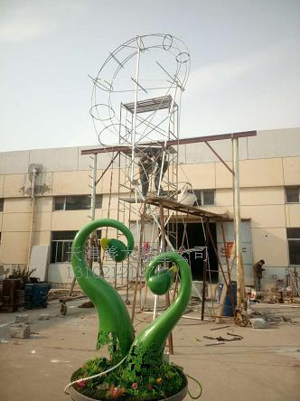 天津善大雕塑公司专业制作玻璃钢 不锈钢 铜雕塑 砂岩雕塑 亚克力雕塑